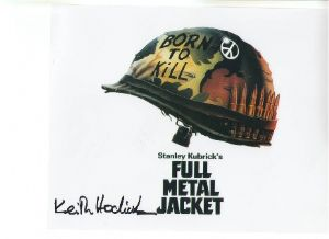"Keith Hodiak ""Full Metal Jacket"" Signed 10 x 8 Photograph #3"